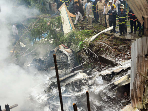 We are not responsible for Chartered plane crash in Mumbai: Aviation ministry