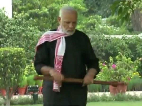 Viral video: PM Modis fitness secret