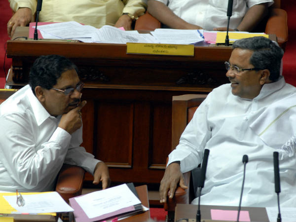 Parameshwar unhappy with Siddaramiah comment on coalition government