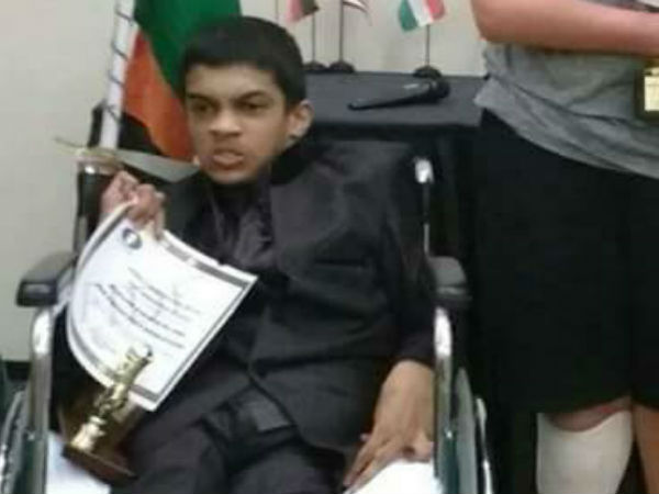 Smartha G Rao has participated in IPCC World Chess Champion of Disabled