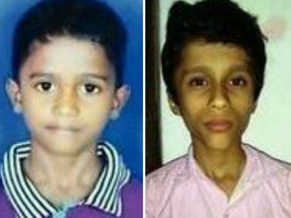 5th standard school boy saved his friend from drowning
