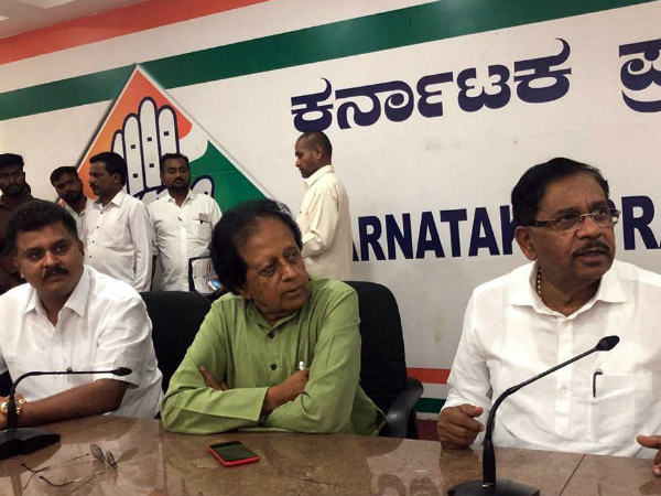 Parameshwar calls for Congress support in Legislative council election