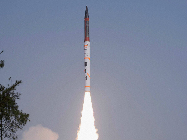 Nuclear-capable Agni-5 test-fired successfully