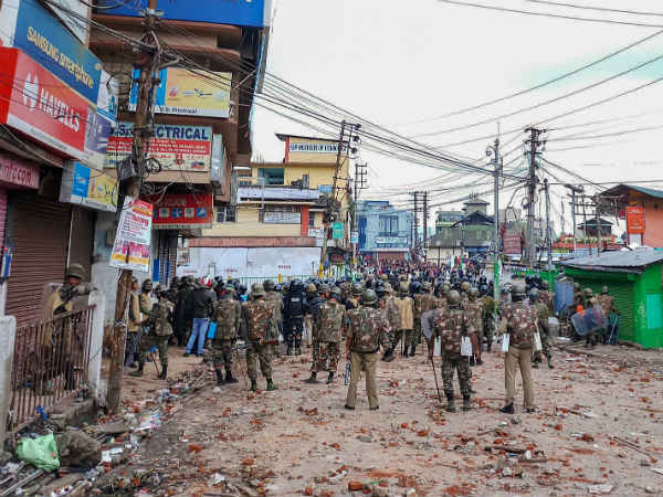 More Clashes In Shillong, Army and Central Forces Called In