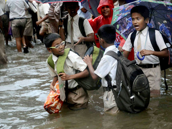 Dakshin Kannada schools declared holiday due to heavy Rain
