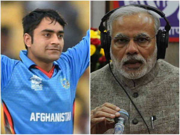 Afghan cricketer Rashid Khan, IAF skydivers lauded by PM