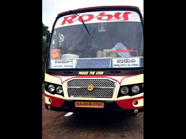 Bus conductors timely action saves passengers life in Mandagadde