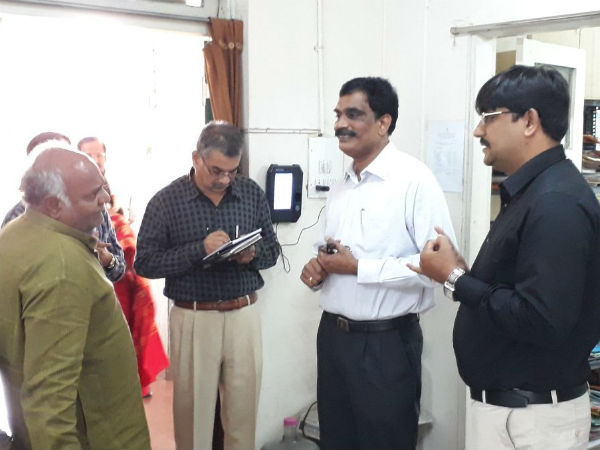 Minister Surprise Visit To Drug Controller Ware House
