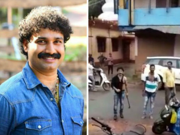 Tulu actor Surendra Bantwals Rowdysm in Bantwal