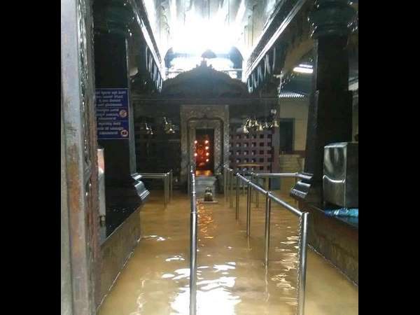 Heavy rain in Udupi district, Kamalashile drowned in water