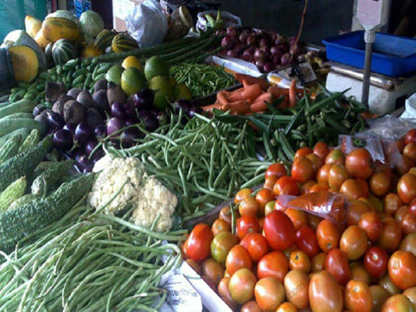 Dip in vegetables price, thanks to monsoon rain