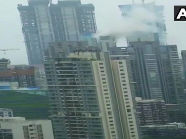 Fire Breaks At Apartment Appasabeh Marathe Marg Worli