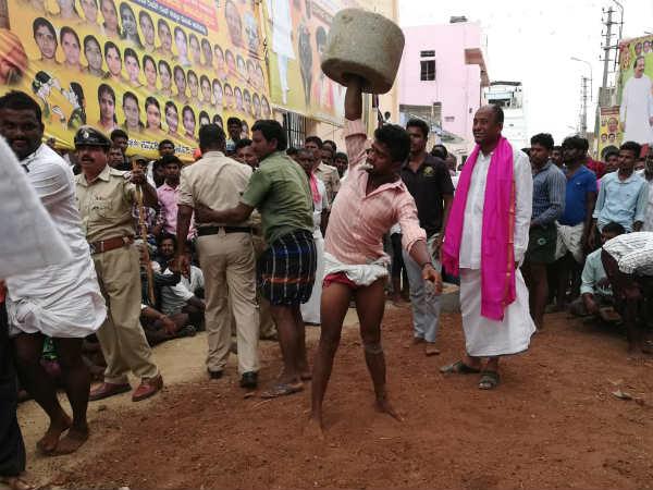 Rural Sports Were Held Lavishly At The Monsoon Festival