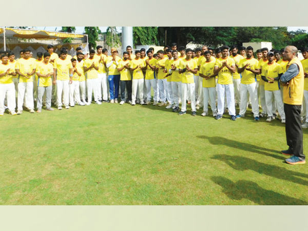 240 young players participated in the talent (Talent Hunt) camp