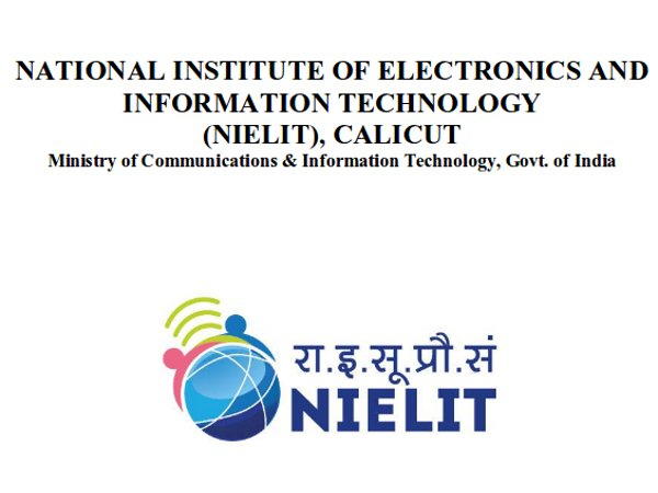 NIELIT recruitment 2018 : Apply for 63 Various Vacancies
