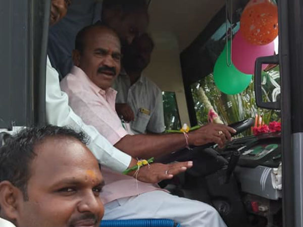 KSRTC launches bus service to villages of Harihar
