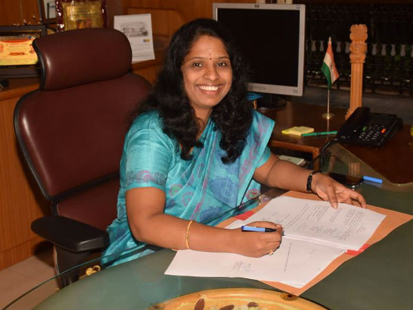 M Deepa Takes Charge As Dharwad Dc
