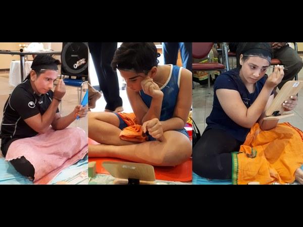 Yakshagana Make Up Workshop In Dubai