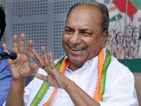 agustawestland case nothing to do with gandhi family ak antony