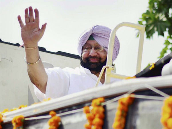 Amarinder Singh announces an annual dope test for govt employees