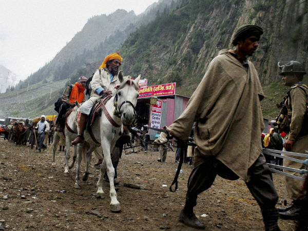 Hubli pilgrims went to Amarnath Yatre were in danger