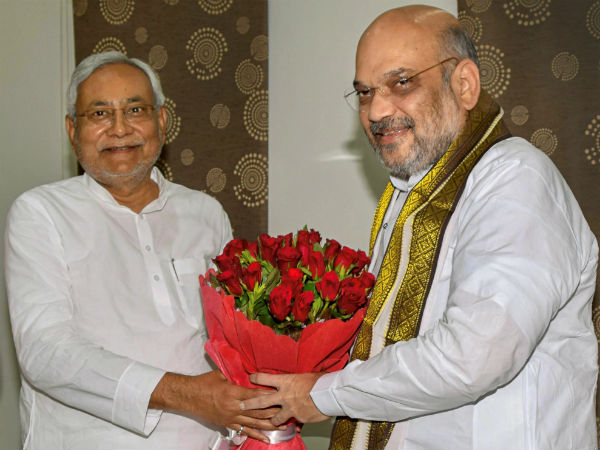 Amit Shah meets Bihar CM Nitish Kumar today