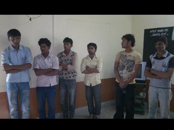 Police Produced To Wagmore In Vijayapura Court