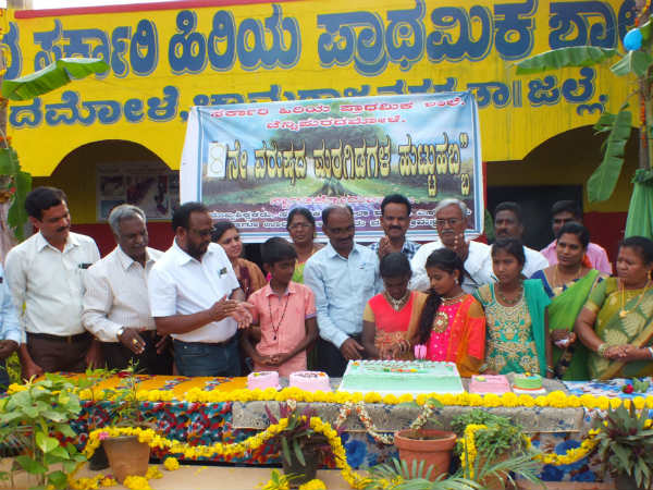 Birthday of plants: A rare celebration in a government school in Chamarajanagar