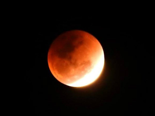 Lunar eclipse: Red blood moon may not be seen in India due to cloudy weather