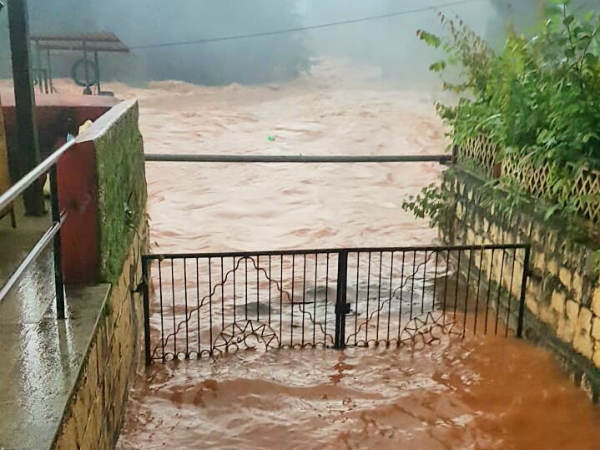 Heavy rain in Dakshina kannada district