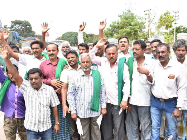 Mandya Farmers Angry On Hdk For Not Fulfill His Promise