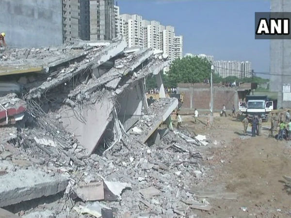 2 under-construction building collapse in Greater Noida: Many killed