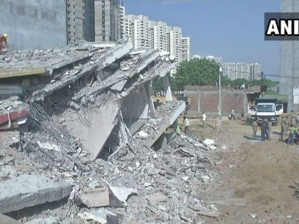 Greate Noida building collapse: Many bobies recovered