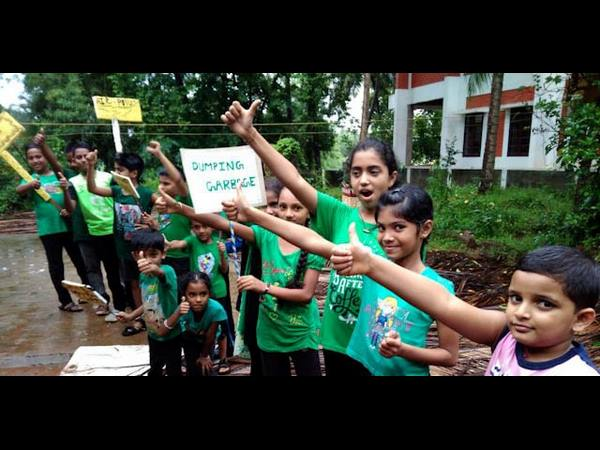 Children gang Green warriors of Mangaluru