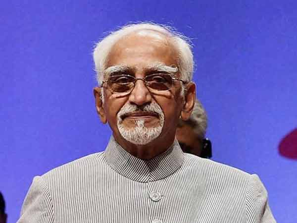 He has a right to make his own judgement: Hamid Ansari on Tharoors statement