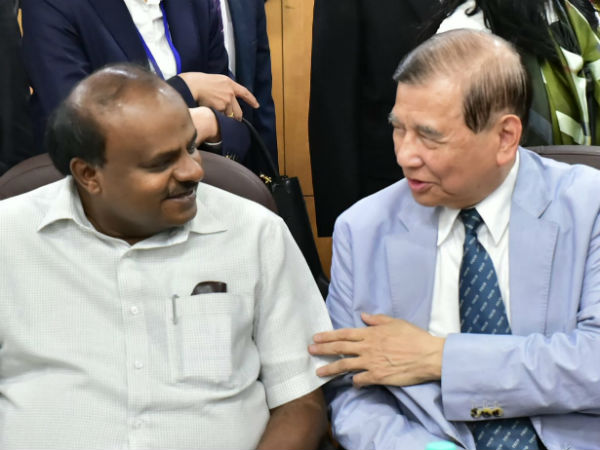 CM Kumaraswamy welcomes, Taiwan showing interest in opening industrial park near Bengaluru airport
