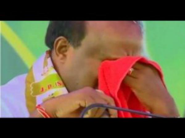 ಹಾಗಾದ್ರೆ.. ಮುಖ್ಯಮಂತ್ರಿ ಕುಮಾರಸ್ವಾಮಿ ಕಣ್ಣೀರಿಗೆ ಅಸಲಿ ಕಾರಣಕರ್ತರಾರು?