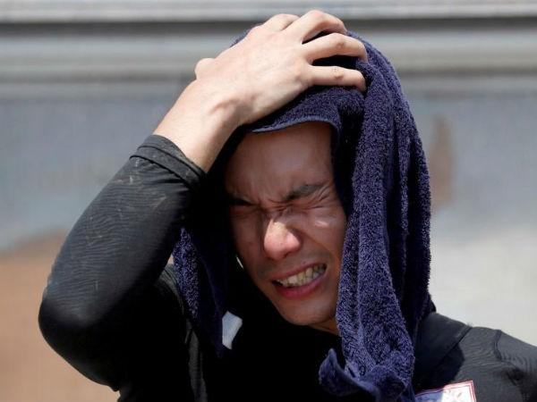 ಬಿಸಿ ಹವೆಯಲ್ಲಿ ಬೇಯುತ್ತಿದೆ ಜಪಾನ್: ವಾರಾಂತ್ಯದಲ್ಲಿ 14 ಬಲಿ