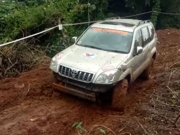 Vainad Jeep Club Mansoon Rally Organied In Kodagu