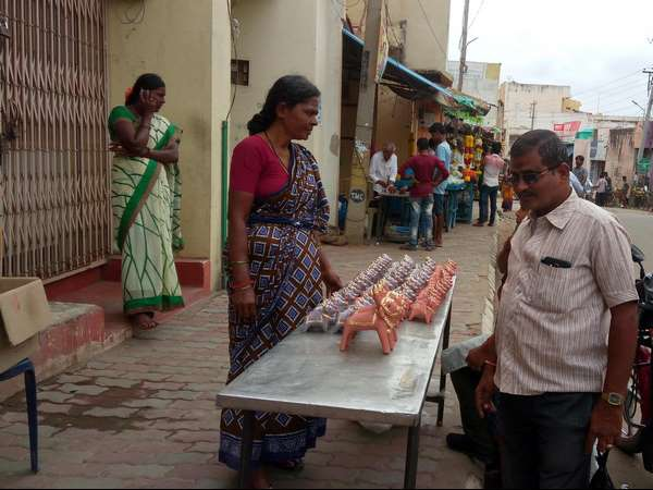 Mannettina Amavasya Demand For Mud Made Basava Idols