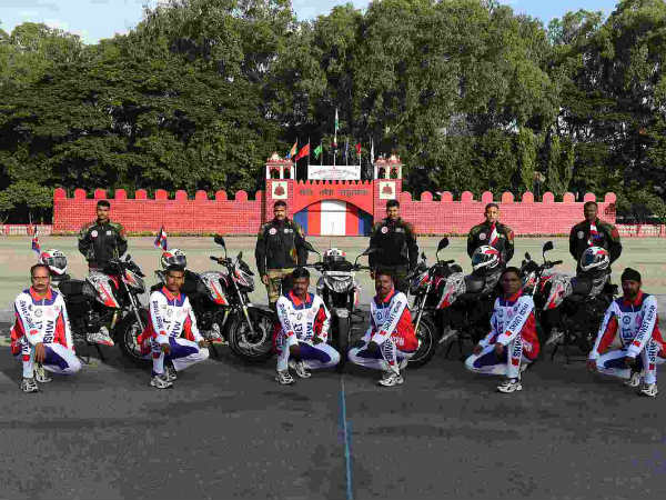 bengaluru army corps ride to kargil
