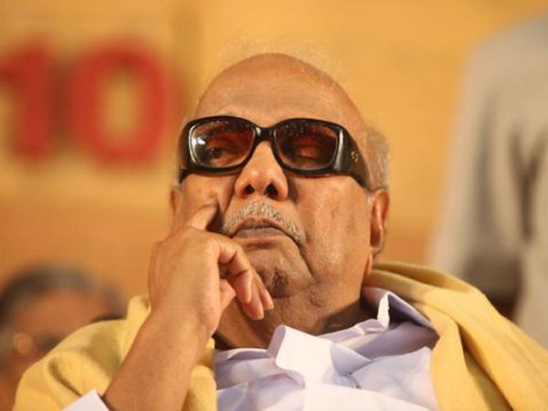M Karunanidhi is being monitored by doctors in Kauvery hospital Chennai