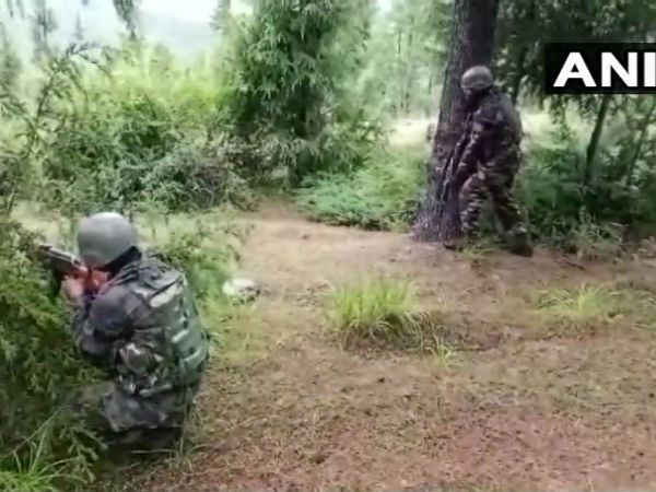 Encounter underway between security forces and terrorists in Kupwara
