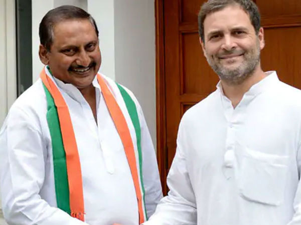 Andhra Pradesh former CM Kiran Kumar Reddy back to congress