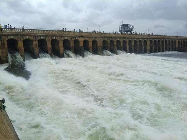Krs Inching Towards Full Reservoir Level Flood Warning Issued