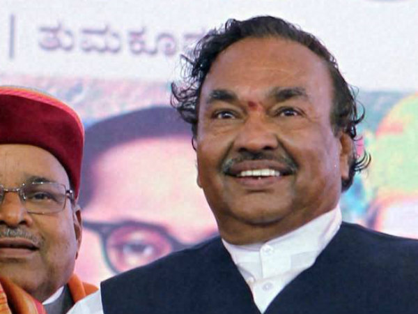 Seers talking about caste politics is dangerous sign: Eshwarappa
