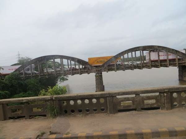 Three bridges in Mangalore District were unfit for travelling