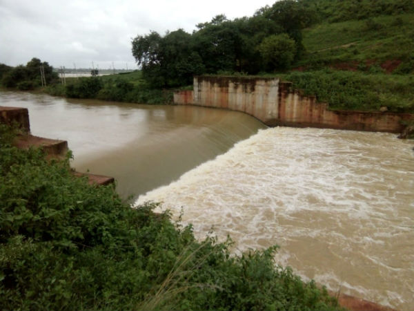 Villagers happy after Madagada Kere overflows