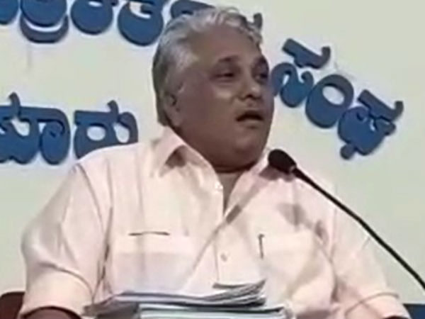 Professor rangappa did not come to open debate in Mysuru