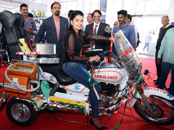 Bengaluru : India Med Expo 2018 at Manpho convention centre